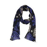 Heartfelt Wishes - Lightweight Twill Scarf Featuring Paw Print Design