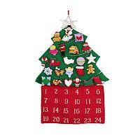 O' Christmas Tree Advent - Christmas Tree Fabric Advent Calendar
