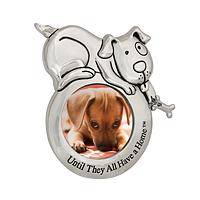 The Picture of Precious - Animal Rescue Support Dog & Bone Fridge Magnet Picture Frame