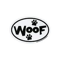 Doggy on Board - Car Magnet that Says Woof