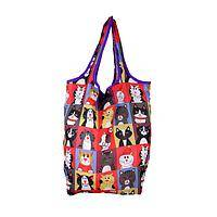 Candid Kitty   - Compact Shopping Fold-Up Tote Bags with Cat Designs