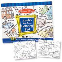 Huge Melissa & Doug Color Book - Jumbo Coloring Book Pad on Premium White Bond Paper 50 Pages