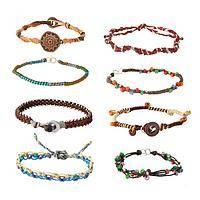 Eight Strands of Earth - Guatemalan Handmade Women's Rights Beaded Bracelet - Set of8