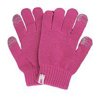 A Touch of Pink - Stylish Warmth Pink Ribbon Touch Screen Gloves