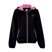 Pursuit the Pink - Pink Ribbon Ready for Action Hooded Jacket