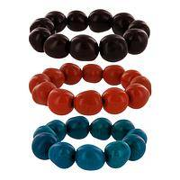 Treasures of the Amazon - Eco-Friendly Tagua Nut Bracelet from the Amazon Rainforest