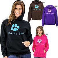 Walk With a Friend Hooded Sweatshirt