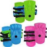 Sno-Stompers by Ideal - Poof-Slinky Monster Track-Makers Strap Over Boots