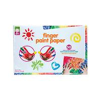 Finger Paint Art Paper - Alex Jr. Heavyweight Paper for Finger Painting Masterpieces