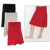 Organic Cotton Swing Skirt