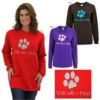 Walk With a Friend Long Sleeve T-Shirt