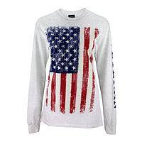 Veteran Flag Long Sleeve T-Shirt