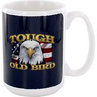 American Spirit and Grit Mug - Tough Old Bird Eagle Coffee Cup