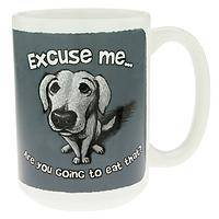 Are You Going to Eat That?  - Humorous Dog Mug