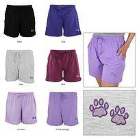 Purple Paw Women's Casual Shorts