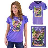 9 Lives Dean Russo Cat Tee