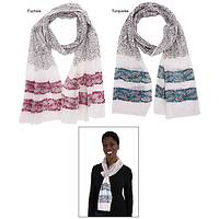 Destiny's Mission - Freedom Fighters Block Print Scarf of Feather Weight Cotton