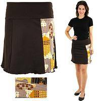 Open Arms Honeycomb Graphic Skirt