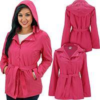 Pink Ribbon Fleece Lined Water Repellent Jacket
