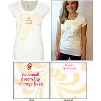 Start Small, Dream Big, Change Lives Swirl Tee