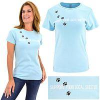 Support Your Local Shelter Organic Cotton Tee