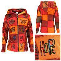 Walking on Sunshine Patchwork Jacket