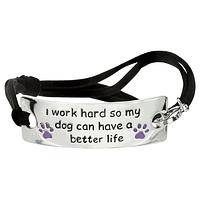 Better Life Dog Adjustable Bracelet