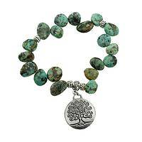 Tree of Life Turquoise Bracelet