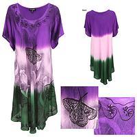 Butterfly Garden Short Sleeve Tunic
