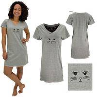 Cat Face Nightshirt