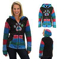Layer Upon Layers Paw Print Jacket