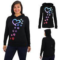 Rainbow Paws Lightweight Thermal Hoodie