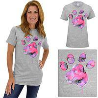 Watercolor Paw T-Shirt