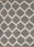 Natural Moroccan pattern gray/ivory hemp area rug, 'Earth Diamond' - Natural Moroccan Pattern Gray/Ivory Hemp Area Rug thumbail
