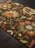 Hand-tufted textured wool brown/multi area rug, 'Deep Medley' - Hand-Tufted Textured Wool Brown/Multi Area Rug (image 2c) thumbail