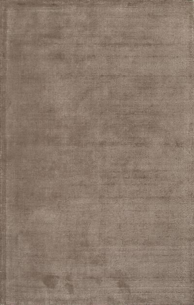 Striped Light Brown Wool Blend Area Rug