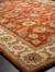 Hand-tufted Oriental pattern red/taupe wool area rug, 'Olympia' - Hand-Tufted Oriental Pattern Wool Red/Taupe Area Rug (image 2e) thumbail