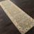 Hand-tufted oriental pattern green/ivory wool area rug, 'Bombay Gold' - Hand-Tufted Oriental Pattern Wool Green/Ivory Area Rug (image 2g) thumbail