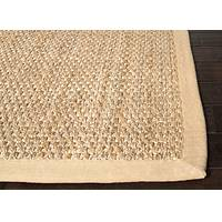 Natural taupe/tan textured jute area rug, 'Naturalist' - Naturals Textured Jute Taupe/Tan Area Rug