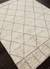 Hand-knotted Moroccan pattern ivory/taupe wool area rug, 'Ethereal' - Hand-Knotted Moroccan Pattern Wool Ivory/Taupe Area Rug (image 2c) thumbail