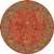 Hand-tufted wool area rug, 'Crimson Spires' - Hand-Tufted 100% Wool Area Rug in Shades of Red (image 2h) thumbail