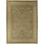 Classic oriental green/ivory wool area rug, 'Hammond' - Classic Oriental Green/Ivory Wool Area Rug thumbail