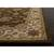 Classic oriental brown/ivory wool area rug, 'Earth Orient' - Classic Oriental Brown/Ivory Wool Area Rug (image 2b) thumbail