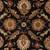 Classic oriental black/red wool area rug, 'Noir Orient' - Classic Oriental Black/Red Wool Area Rug (image 2e) thumbail