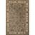 Classic oriental gray/ivory wool area rug, 'Stone Orient' - Classic Oriental Gray/Ivory Wool Area Rug thumbail