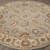 Classic oriental gray/ivory wool area rug, 'Stone Orient' - Classic Oriental Gray/Ivory Wool Area Rug (image 2c) thumbail