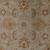 Classic oriental gray/ivory wool area rug, 'Stone Orient' - Classic Oriental Gray/Ivory Wool Area Rug (image 2e) thumbail