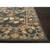 Classic arts and crafts blue wool area rug, 'Royal Madrone' - Classic Arts And Crafts Blue Wool Area Rug (image 2b) thumbail