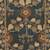 Classic arts and crafts blue wool area rug, 'Royal Madrone' - Classic Arts And Crafts Blue Wool Area Rug (image 2e) thumbail