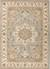 Classic oriental grey/ivory wool area rug, 'Province' - Classic Oriental Grey/Ivory Wool Area Rug thumbail